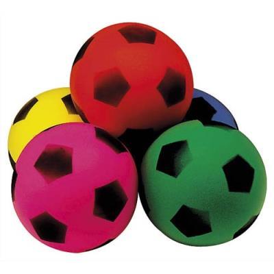 Balle en mousse diamètre 12 cm, 40 g, coloris assortis