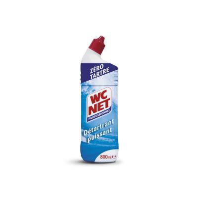 Gel WC détartrant puissant - parfum amande amère - flacon 800 ml (photo)