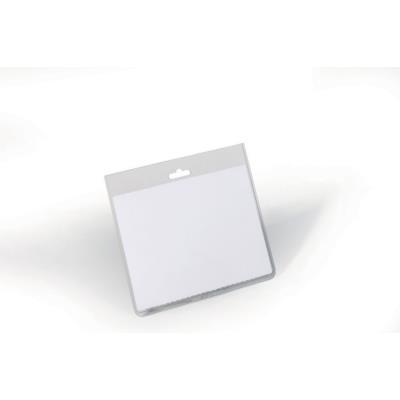 Badge fermé sans clip Durable - format horizontal 6 x 9 cm - boîte de 20 (photo)