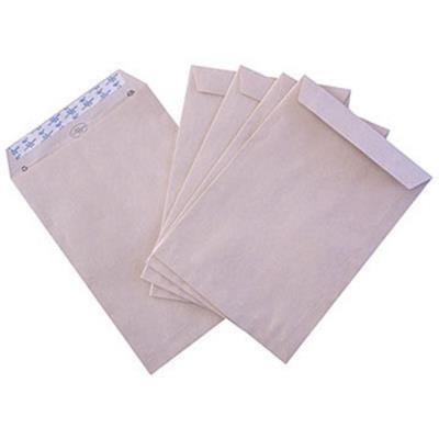 Enveloppe cellulose et kraft La Couronne - format international C4 - 229 x 324 mm - avec fenêtre - 90 g/m² fermeture autocollante - kraft blond - paquet 250 unités