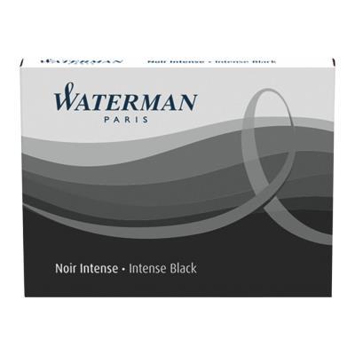 Etui de 8 Cartouches d'encre Waterman standard 23 - noir (photo)