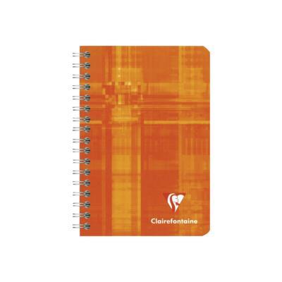 Carnet spiralé Clairefontaine - 100 pages - 9,5 x 14 cm - petits carreaux