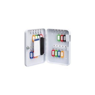 Armoire à clés - 20 clés - blanc