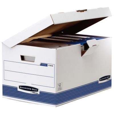 Conteneur automatique Flip Top Maxi Bankers Box® System - Format A4 (photo)
