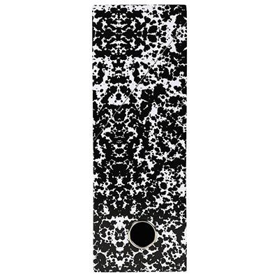 Boîte de classement Exacompta Annonay en carton - pour 800 feuilles A4 maximum - 240 x 320 mm - largeur de dos 90 mm - blanc