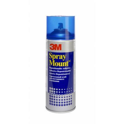 Aérosol de colle 3M Spray Mount - pour montages successifs - 400 ml (photo)