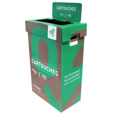 Boîte de collecte Ecobox pour le tri et recyclage des cartouches (photo)