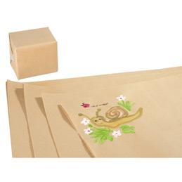 Feuilles de papier kraft brun Maildor - 100x70cm - 60 g - paquet de 25 (photo)