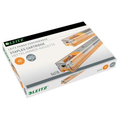 Recharges d'agrafes 26/8 - pour agrafeuses gros travaux Leitz - boîte de 5