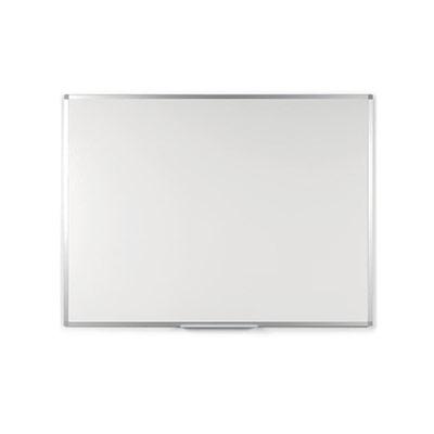 Tableau blanc laqué - magnétique - cadre aluminium - 100 cm x 200 cm