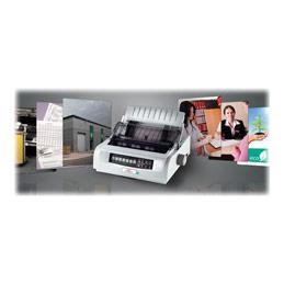 OKI Microline 5590eco - Imprimante - Noir et blanc - matricielle - A4 - 360 dpi - 24 pin - jusqu'à 473 car/sec - parallèle, USB