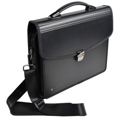 Valisette noire EXATRAVEL 1 compartiment PC - trieur 6 compartiments - 1 compartiment pour accessoires
