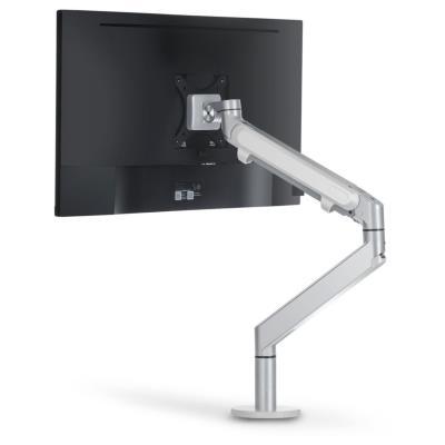Bras porte-écran articulé simple - blanc