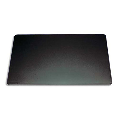 Sous-mains Durable avec rainures - dessous en mousse antidérapant - noir - 52 x 65 cm