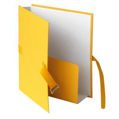 Chemise extensible à rabat Exacompta - coloris jaune