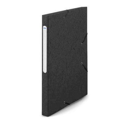 Chemise 1er prix 3 rabats et élastique - carte 5/10e - noir