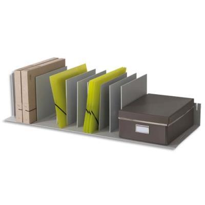 Trieur Fast Paperflow- 10 séparateurs amovibles/crémaillères au pas 2.5 cm