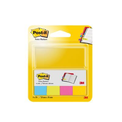 Etui de 4 mini bloc de 50 feuilles repositionnables ultra color