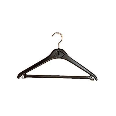 Cintres plastique -ABS noir - paquet 20 unités (photo)