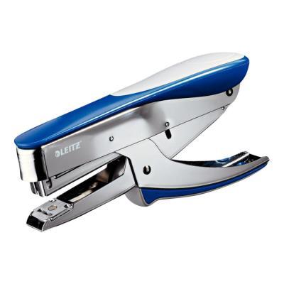 Pince agrafeuse Leitz 5548 - utilise les agrafes 24/6 et 26/6 - bleu - 30 feuilles