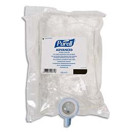 Recharge de gel Hydro-Alcoolique pour distributeur manuel Gojo NXT - 1000 ml (photo)