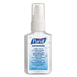 Gel hydro-alcoolique Purell - flacon de poche 60ml (photo)