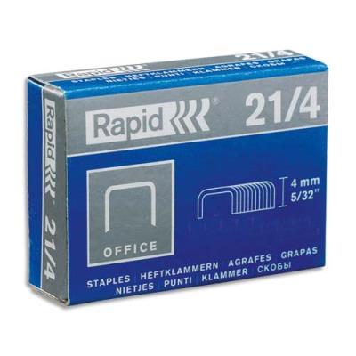 Agrafes Rapid Nº21/4 - boîte de 5000