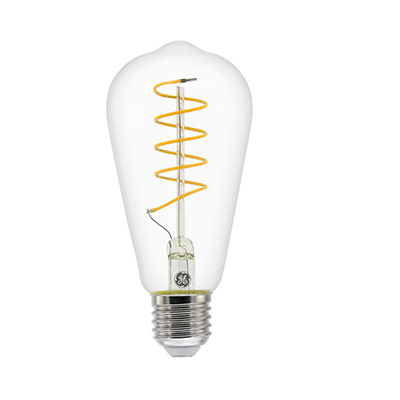 Ampoule LED à filament 5,5W - culot E27 - 250 lumens - 2200K - classe A (photo)