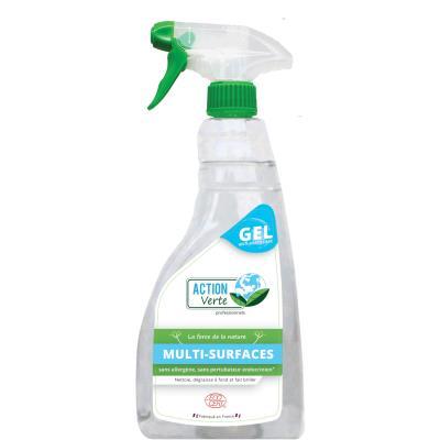 Gel dégraissant écologique multi-surfaces - vaporisateur de 750ml - bouteille 750 millilitres (photo)