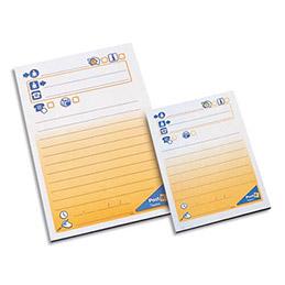 Bloc repositionnable Post'it de 100 feuilles message téléphonique 102x149 7693 (photo)