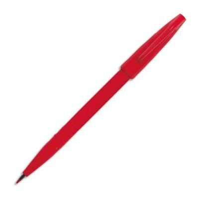 Stylo feutre Pentel Sign S520 - pointe en nylon largeur de trait 0.8 mm - encre rouge
