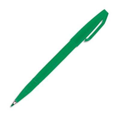 Stylo feutre Pentel Sign S520 - pointe en nylon largeur de trait 0.8 mm - encre verte