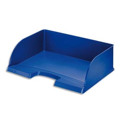 Corbeille à courrier à l'italienne Jumbo Plus - bleu - dimensions 36,3 x 27,3 x 10,3 cm (photo)