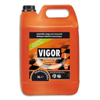 Nettoyant industriel Vigor à l'ammoniac - bidon 5 litres (photo)