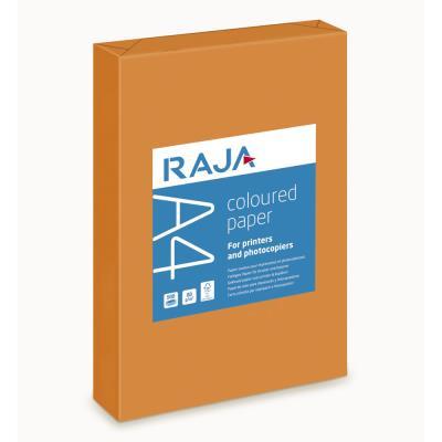 Papier couleur A4 orange vif 80g Coloured Paper - ramette de 500 feuilles