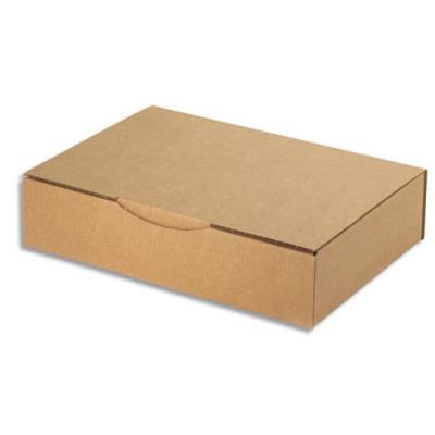 Boite postale brune d'expédition en carton - 31 x 21 x 7 cm (photo)