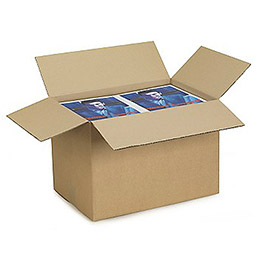 Caisse carton brune - double cannelure - 40 x 30 x 27 cm - lot de 15 (photo)