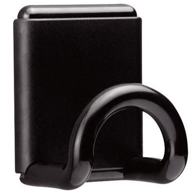 Patère Design magnétique - 1 patère - noir