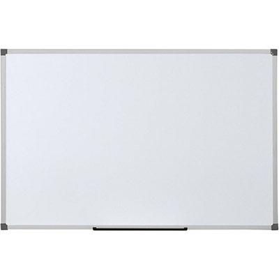 Tableau blanc Bi-Office Scala émaillé - cadre en aluminium - 1 200 x 900 mm