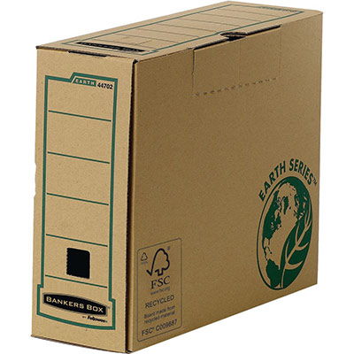 Boîte à archives Bankers Box Earth Series - dos de 10 cm - montage manuel