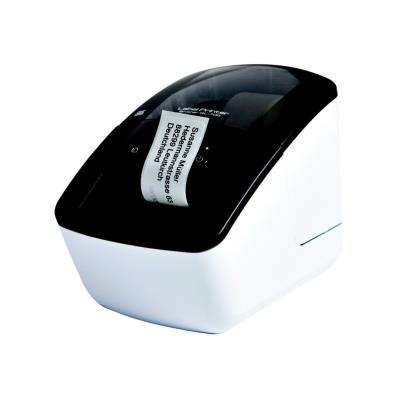 Brother QL-700 - Imprimante d'étiquettes - thermique direct - rouleau (6,2 cm) - 300 x 600 ppp - jusqu'à 150 mm/sec - USB - outil de coupe