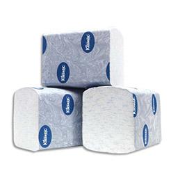 Papier toilette en paquet Kleenex Ultra - pliage enchevetré - carton de 36 paquets de 200 feuilles (photo)