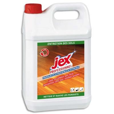 Nettoyant pour parquets vitrifiés stratifiés Jex - bidon de 5 litres (photo)