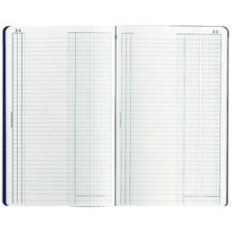 Journal Exacompta - 32 x 19,5 cm - 80 pages - 2 colonnes et 38 lignes (photo)