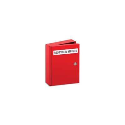 Coffret registre de sécurité Lifebox - protège le Livret de sécurité relatif à un ERP - L35xH26,5xP6,5 cm (photo)