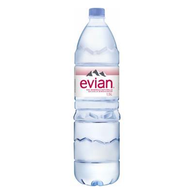 Bouteille d'eau minérale Evian - 1,5 L (photo)