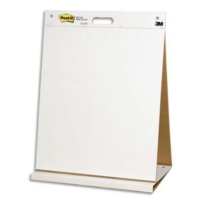 Meeting-chart Post-It en papier recyclé - blanc - format 63,5 x 77,4 cm - 30 feuilles - Lot de 2 (photo)