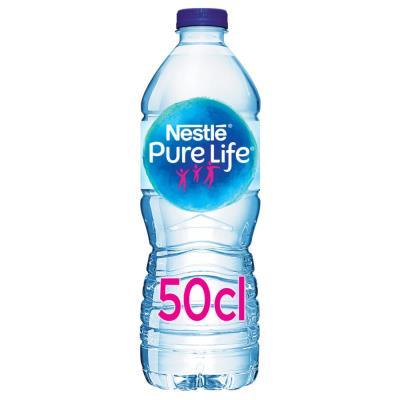 Bouteille d'eau de source Nestlé Pure Life - 50 cl (photo)