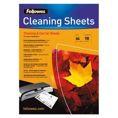 Feuilles de nettoyage pour plastifieuse A4 - paquet 10 feuilles