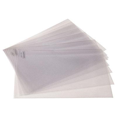 Etui transparent - format 14,8 x 21 cm - A5 - sac 25 unités (photo)